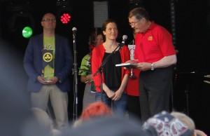 Mansikkaisännäksi nimitettiin Pakkasmarja Oy:n Terhi Janatuinen.