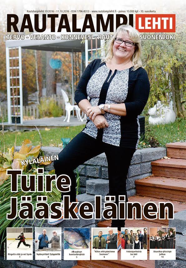 Rautalampilehti 10/2016